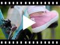 Video from Tennis en Toile avec Bout Caoutchouc Sans Lacets