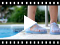 Video from Sandales Plastique enfants de couleur unie