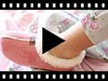 Video from Chaussons Pantoufles Façon Peau de Mouton