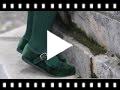 Video from Chaussures Babies Fille en Velours Fermeture à Boucle