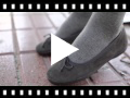 Video from Ballerines fille et femme en suède avec Ruban