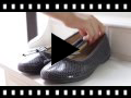 Video from Ballerines Fille Print Serpent