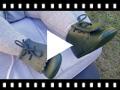 Video from Chaussures en cuir pour bébé façon Bottillon avec franges