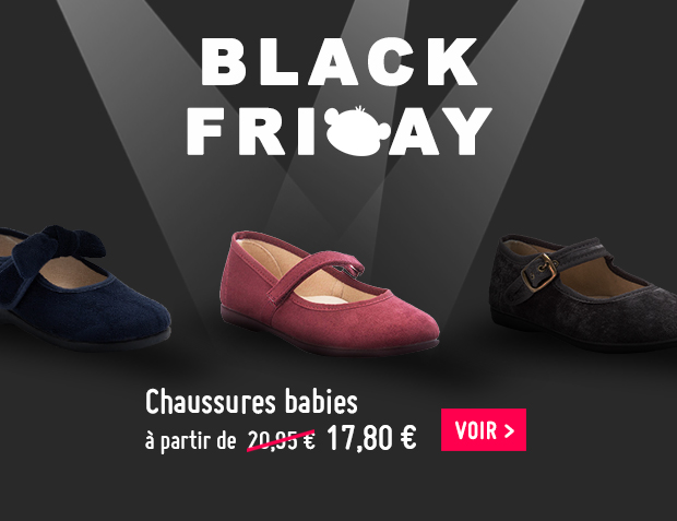 Chaussure babies fille pas cher Black Friday