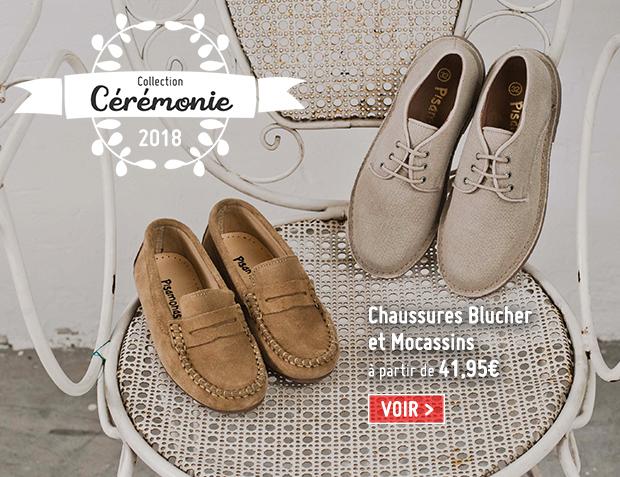 Chaussures Cérémonie Garçon 2018