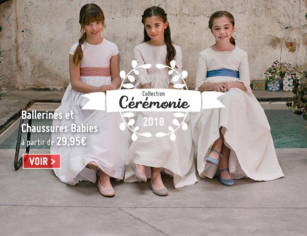 Chaussures Cérémonie Fille 2018