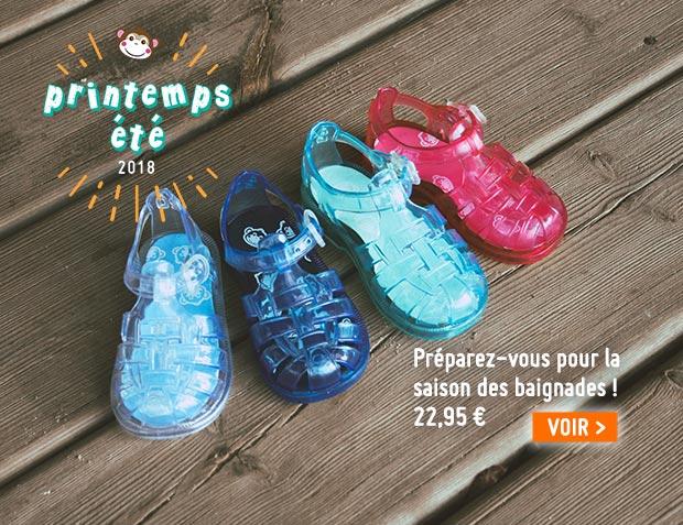 Sandales en plastique Pisamonas -Édition limitée