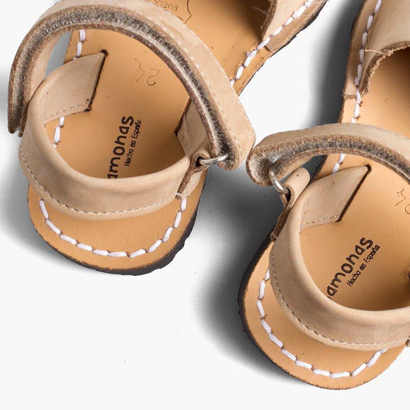 Sandales avarcas avec fermeture à scratch ?