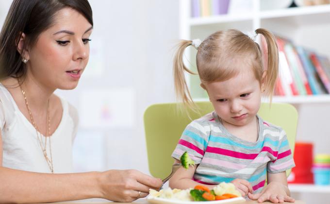 Recettes pour les enfants qui ont du mal à manger...