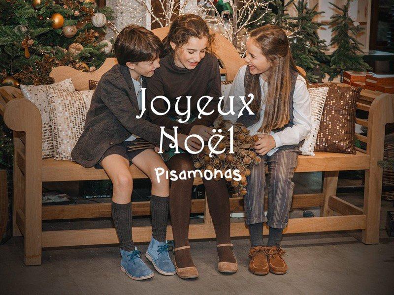 Joyeaux Noël avec le Lookbook Pisamonas