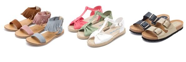 Sandales à Frange