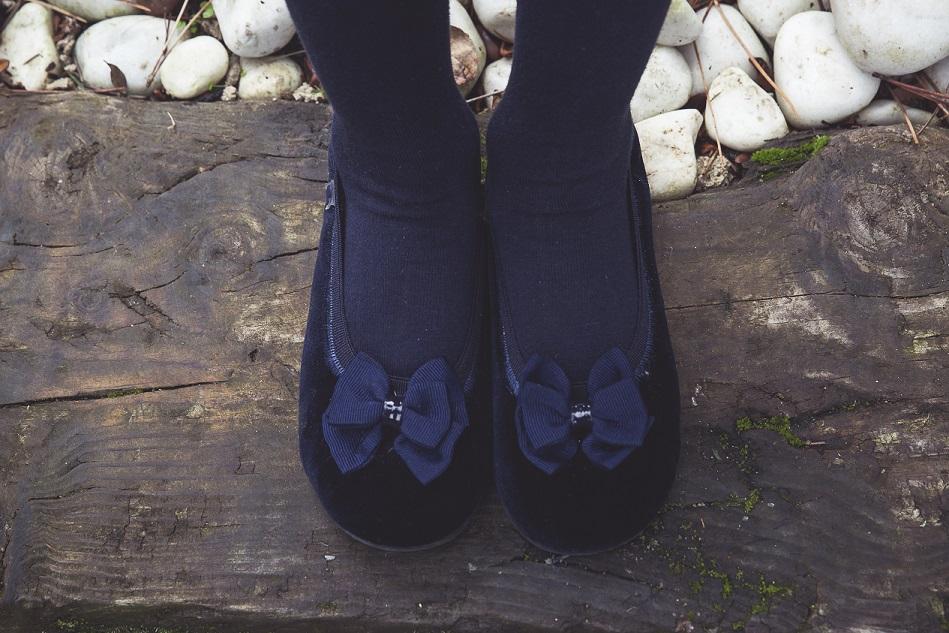 Chaussures en velours comme neuves