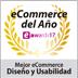 Meilleur Ecommerce Conception et Facilité d'Utilisation SHOWAWARDS17 (2017)