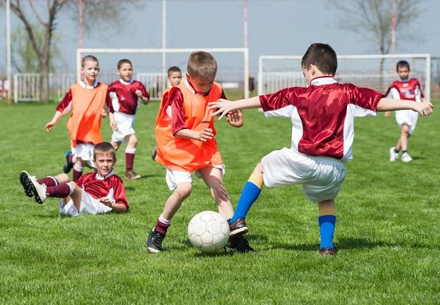 El deporte y los niños en Pisamonas