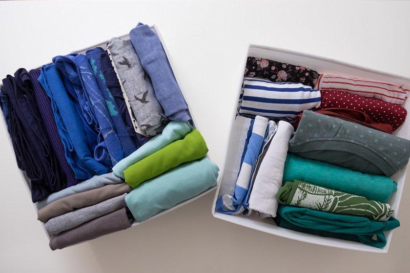 Marie Kondo les vêtements