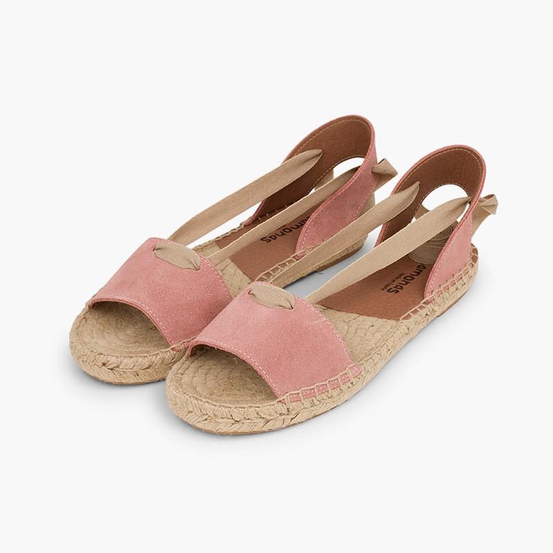 sandales en jute pour les filles